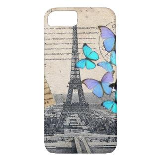 elegant french art paris eiffel tower iPhone 8/7 case