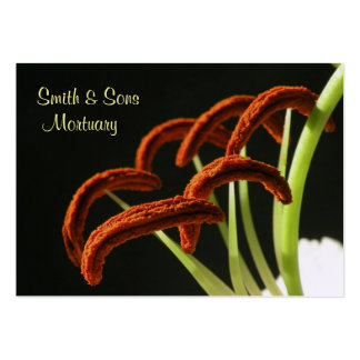 Elegant Funeral Director Business Card