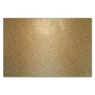 Elegant Glam Gold Glitter Tissue Paper
