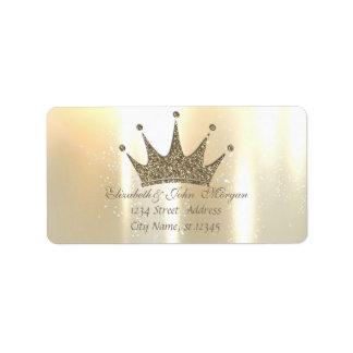 Elegant Glamorous Shiny ,Glittery Tiara Princess Label