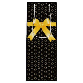Elegant gold and black gift bag