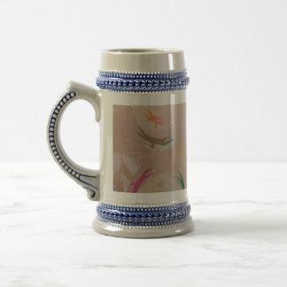 Elegant Gold BIRDS SkyDance Sky Dance Coffee Mugs