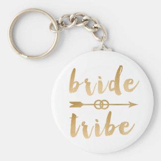 elegant gold bride tribe arrow wedding rings key ring