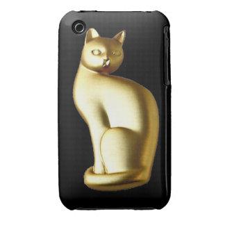 Elegant Gold Cat Blackberry Curve Case-Mate Case Case-Mate iPhone 3 Case