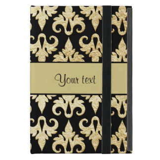 Elegant Gold Damask iPad Mini Case