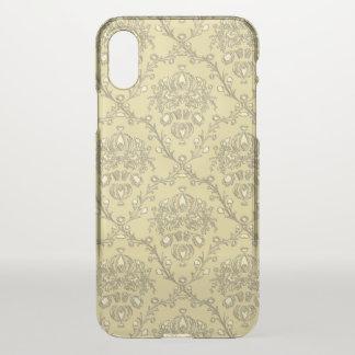 Elegant Gold Damask Uncommon iPhone X Case