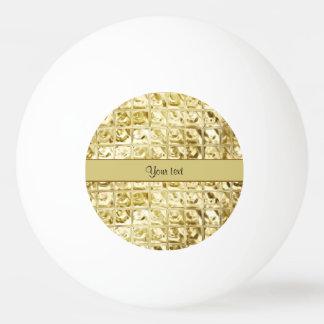 Elegant Gold Foil Squares
