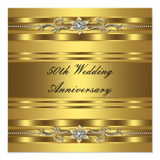 50th Wedding Anniversary Gift Certificate Template Imbusy for – Invitation Cards for Golden Wedding Anniversary
