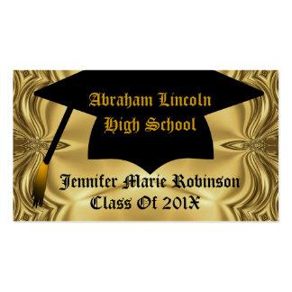 Elegant Gold Graduate Business Card