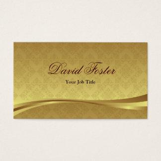 Elegant Gold Leaf Look with Luxury Damask