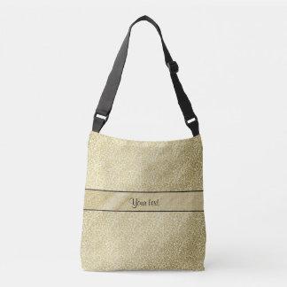 Elegant Gold Leaf Tote Bag