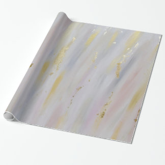 Elegant Gold Marbled Wrapping Paper