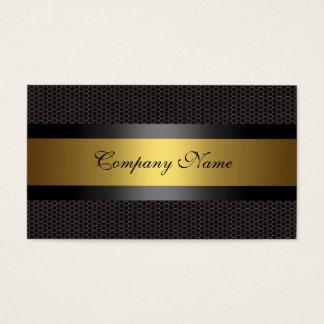 Elegant Gold Metal Black White