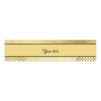 Elegant Gold Napkin Band