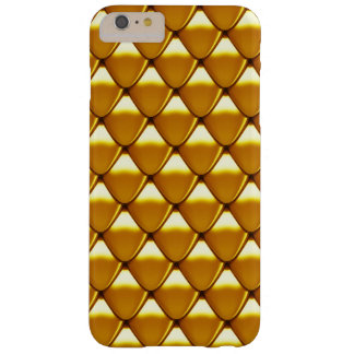 Elegant Gold Scale Pattern Barely There iPhone 6 Plus Case