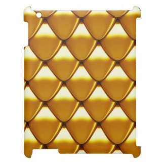 Elegant Gold Scale Pattern Case For The iPad