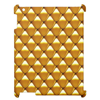 Elegant Gold Scale Pattern Cover For The iPad
