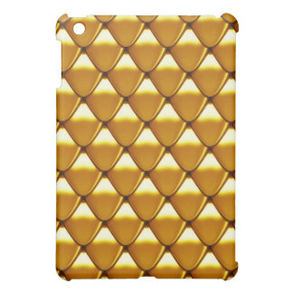 Elegant Gold Scale Pattern Cover For The iPad Mini