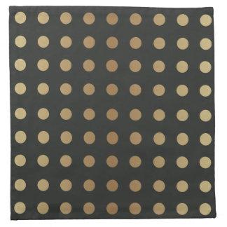 Elegant Gold & shades of Grey Napkin