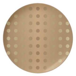 Elegant Gold & shades of Grey Plate