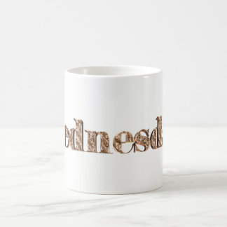 Elegant Gold Typography Day of The Week Wednesday Coffee Mug