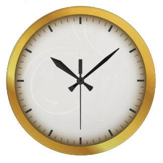 Elegant Golden Luxury Circle with Pointers Clocks