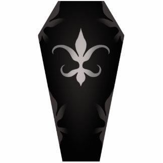 Elegant gothic coffin for Halloween Photo Sculpture Magnet