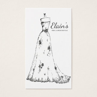 Elegant Gown Bridal and Dress Boutique - 1 Business Card