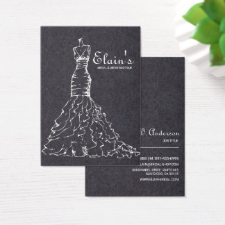 Elegant Gown Bridal and Dress Boutique -2 Business Card