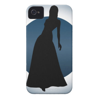 Elegant Gown Fashion Illustration BlackBerry Case