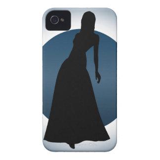 Elegant Gown Fashion Illustration iPhone(4) Case Case-Mate iPhone 4 Cases