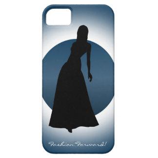 Elegant Gown Fashion Illustration iPhone(5) Case