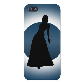 Elegant Gown Fashion Illustration Savvy iPhone(5) iPhone 5/5S Case