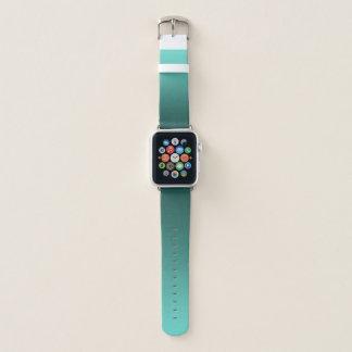 Elegant Gradient Teal Apple Watch Band