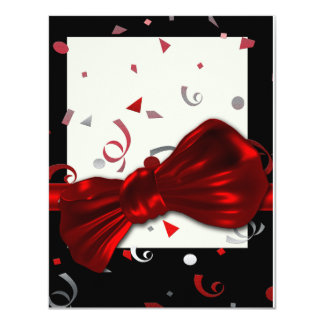 Elegant graduation prom formal party card