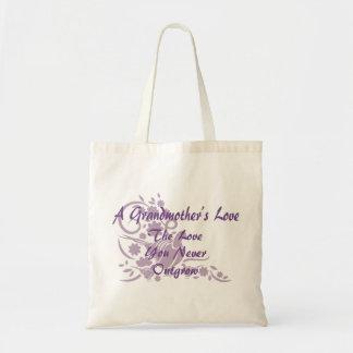 Elegant Grandmother Love Lavender Dove Tote Bag