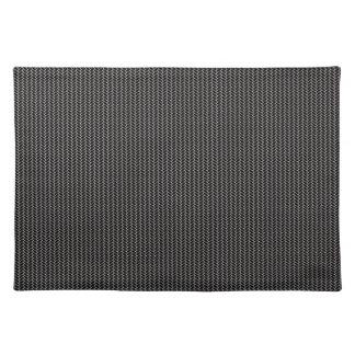 Elegant gray texture placemat