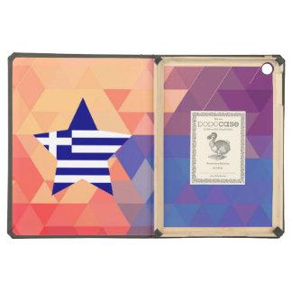 Elegant Greece flag heart iPad Air Case