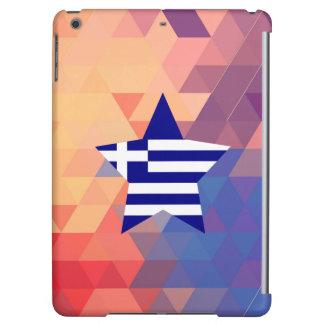 Elegant Greece flag heart
