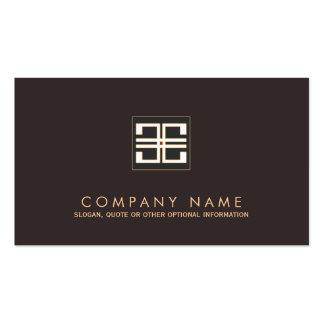 Elegant Greek Key  Interior Designer Business Card Template