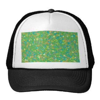 Elegant Green Confetti TEMPLATE Add text image fun Trucker Hat