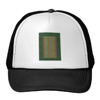 ELEGANT Green SPARKLE Energy Print:LOWPRICE gifts Trucker Hat