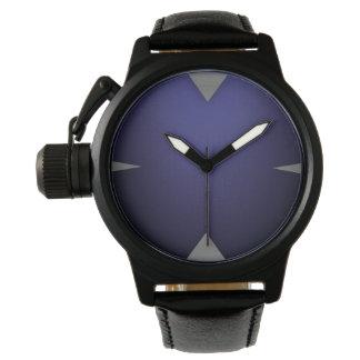 Elegant Grey Triangle Watch Design