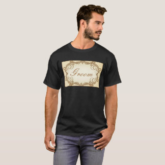 Elegant Groom T-Shirt