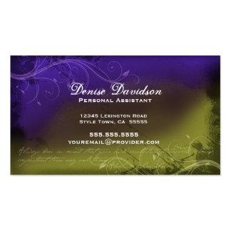 Elegant Grunge Business Card