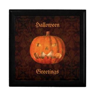 Elegant Halloween jack o lantern decor Gift Box