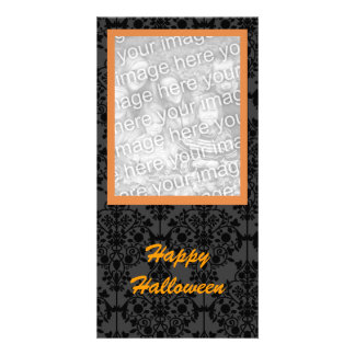 Elegant Halloween Photo Card