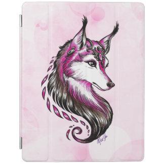 Elegant Hand Drawn Wolf iPad Smart Cover iPad Cover