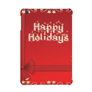 Elegant Happy Holidays iPad Mini Covers