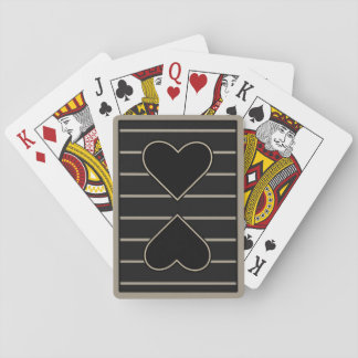 Elegant Heart to Heart 2 Playing Cards